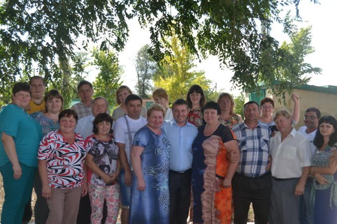Коллектив Тарасовского филиала