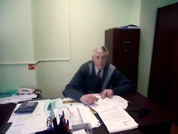 Директор Егорлыкского филиала Степан Григорьевич Зимовец