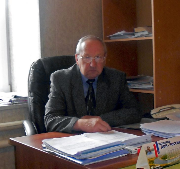 Директор Верхнедонского филиала Александр Афанасьевич Клягин