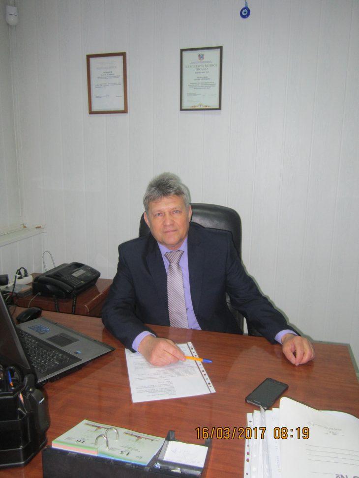 Директор Веселовского филиала Сергей Петрович Морозов