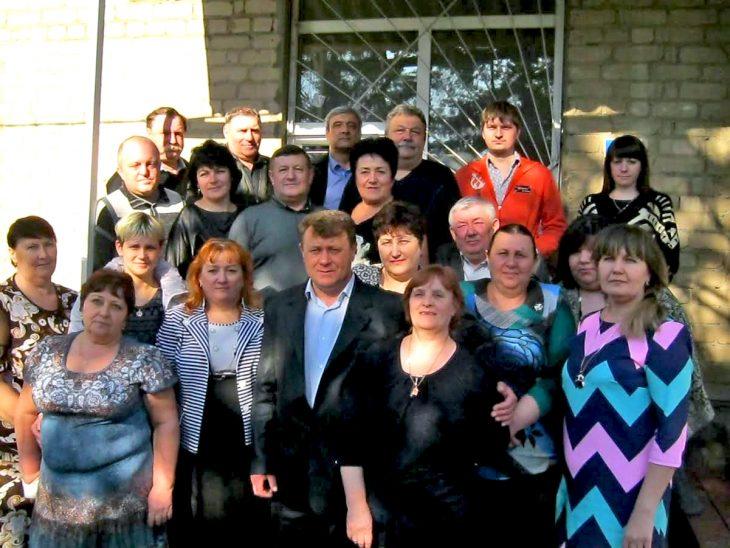Коллектив Багаевского филиала, 2017 год